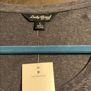 Lucky brand gray  jacket